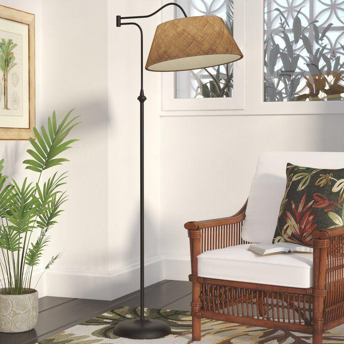 Florance 61 Swing Arm Floor Lamp Floor Lamps Living Room Floor Lamp Tropical Floor Lamps