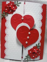 Double hearts... great for wedding, anniversary, valentine's day
