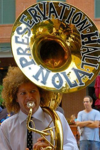 Ben Jaffe, Sousaphone Preservation Hall Jazz Band