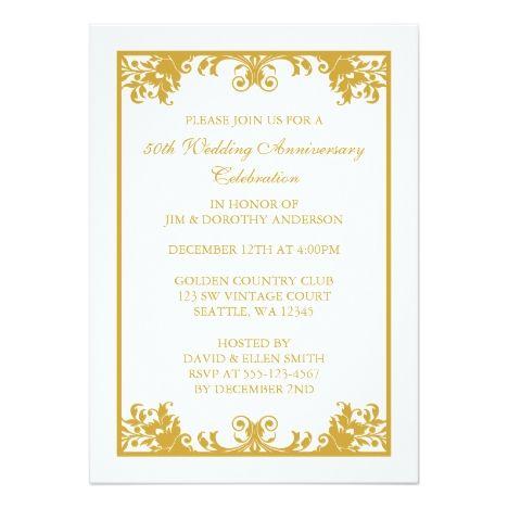 The  Best Th Wedding Anniversary Invitations Ideas On