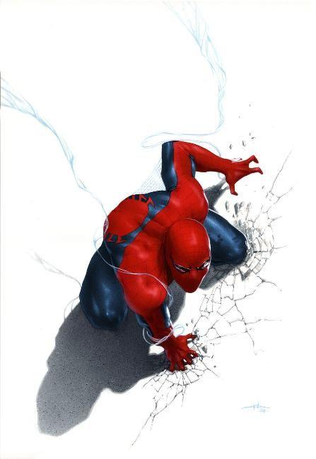 Spider-man Anniversary edition (Marvel Italia) By Gabriele Dell'Otto #Comics #Illustration #Drawing