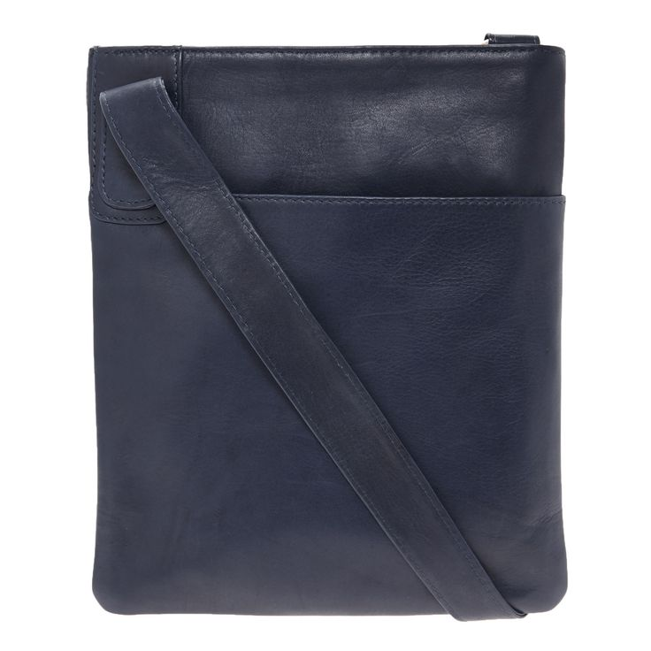 Jobis Blue Leather Cross Body Bag for £24.99 #fabfind from TK Maxx UK
