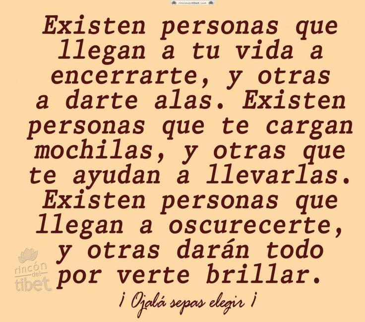 Existen personas que llegan a tu … #reflexionesdevida