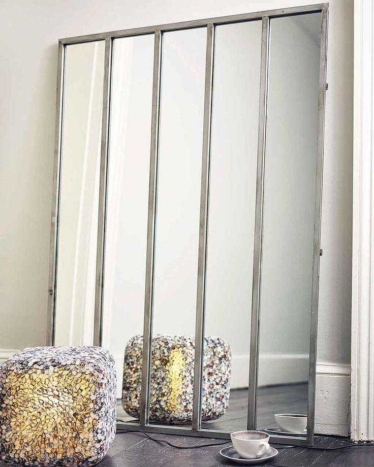 Quintet - Large Window Frame Mirror | MirrorDeco | Decorative Mirrors