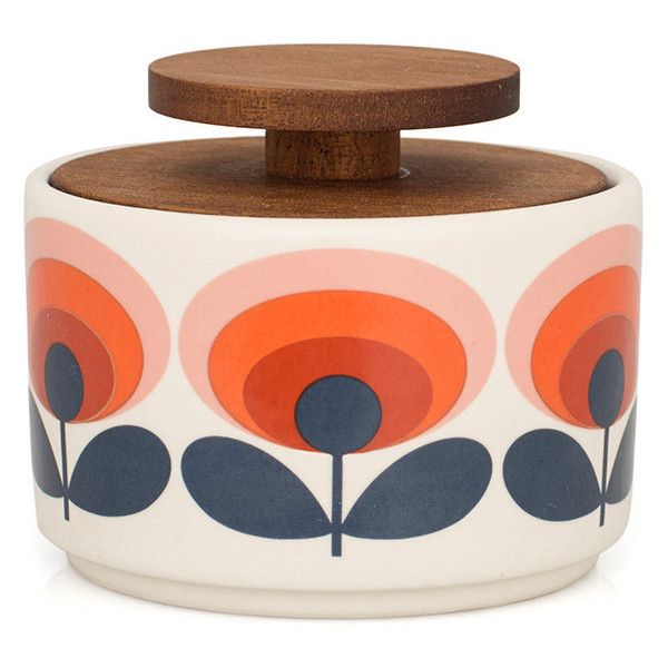 Superb Orla Kiely U002770s Flower Sugar Bowl (43 CAD) ❤ Liked On Polyvore Featuring
