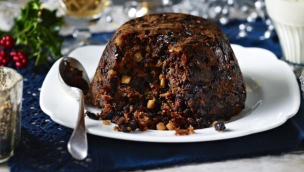 Mary Berry Christmas Pudding with Brandy Butter