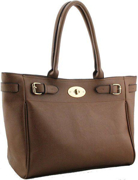 Fashion Handbag - Tan