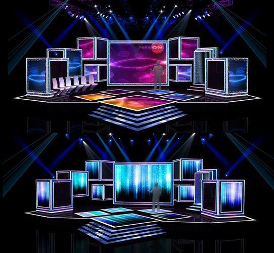 concert stage design 7 3d model