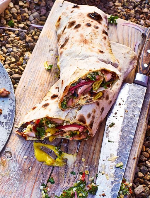 Chicken Shawarma by Jamie Oliver (from Comfort Food Programme/Book)