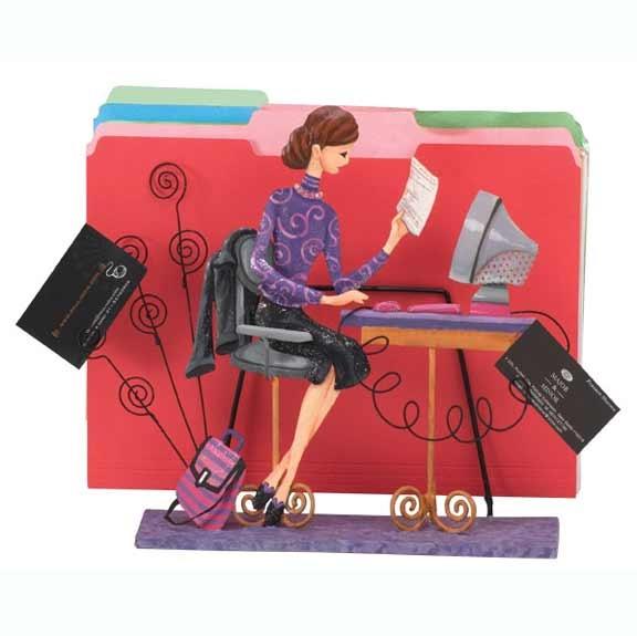 Nine to Five File Organizer/Card Holder