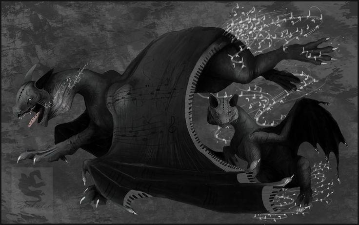 Namu - Music dragons by Spikulec on DeviantArt
