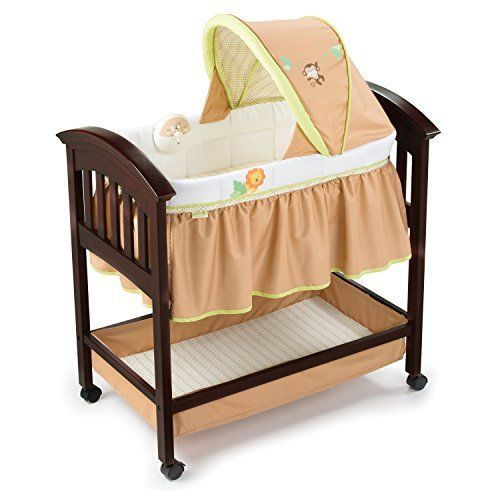 Summer Infant Classic Comfort Wood Bassinet, Swingin' Safari #SummerInfant