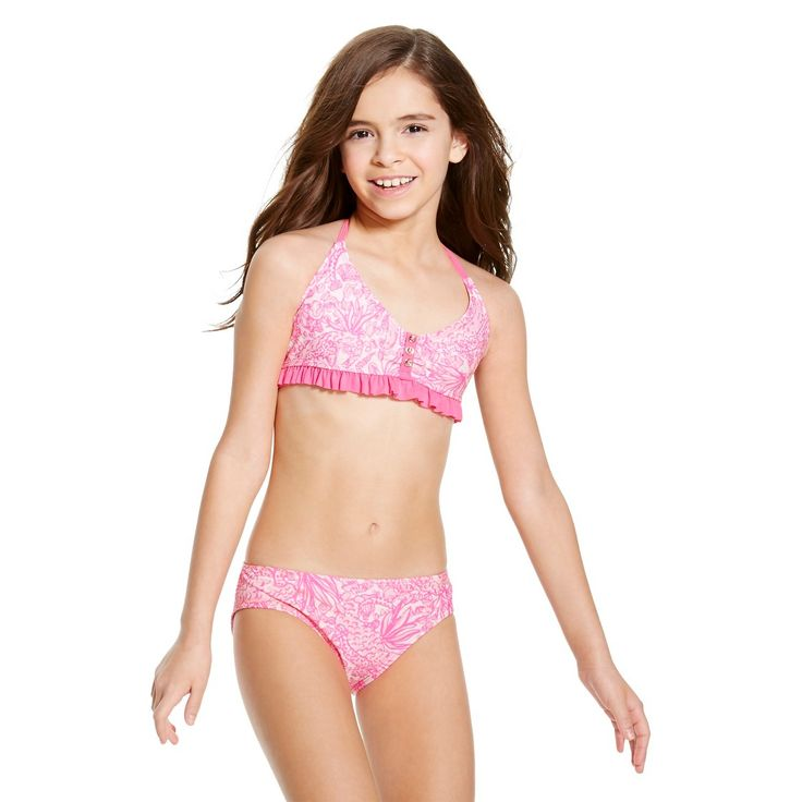 Lilly Pulitzer for Target Girls' Bikini Swimsuit Set - See Ya Later | Isabella | Pinterest