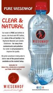 Natural, clear and totally refreshing!