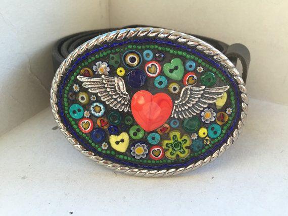 Mosaic Belt Buckle Custom Belt Buckle Belts for by camillaklein