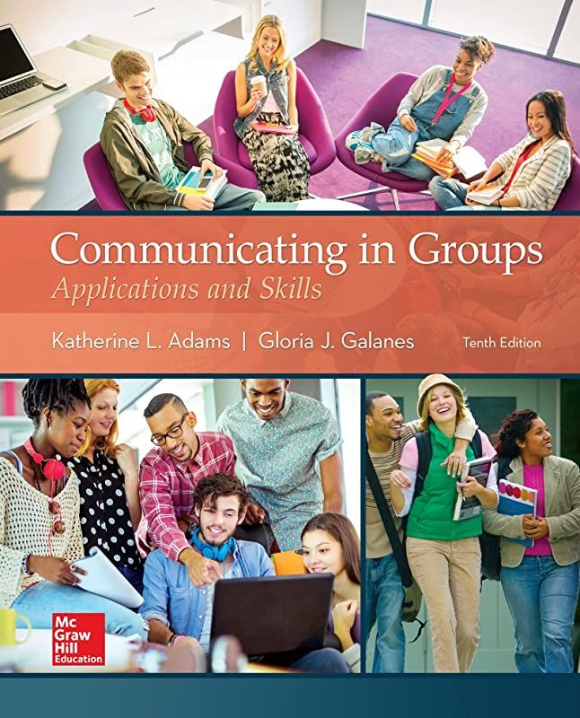 Epub Communicating In Groups Applications And Skills Author