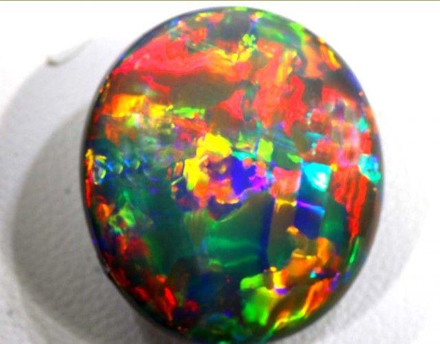 N3- 19.20 CTS QUALITY BLACK SOLIDOPAL LIGHTNINGRIDGE INV- black opals ,fire black opals,lightning ridgeblack  opal