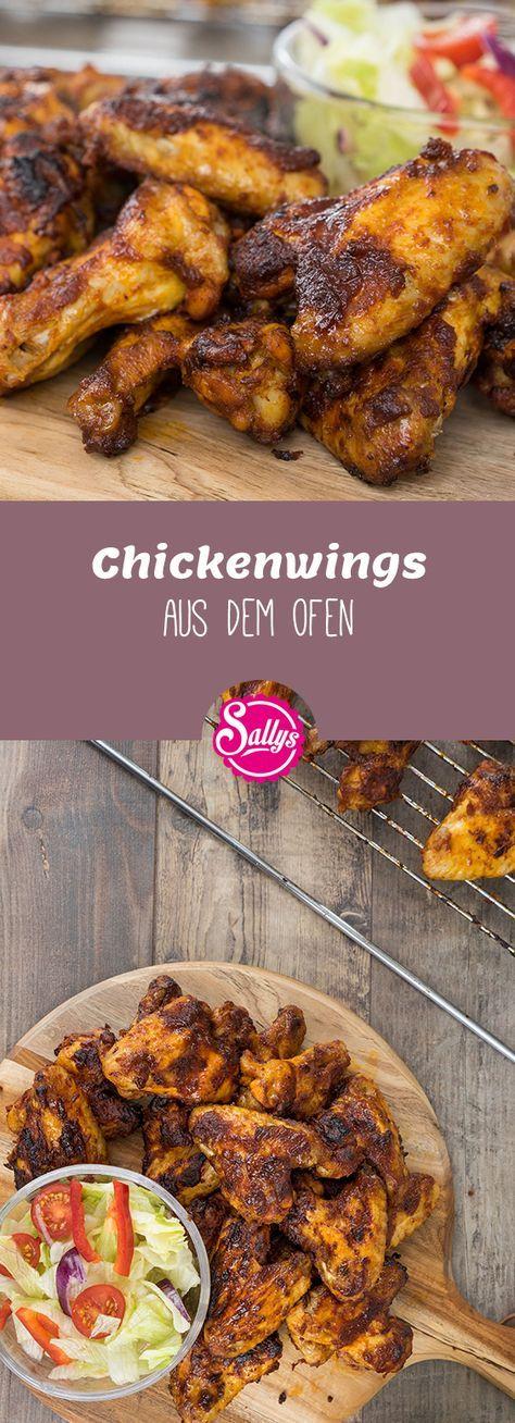 Würzige Marinade für Chickenwings aus dem Ofen oder vom Grill, die auch gut vo…