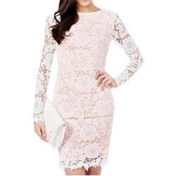 Rosa Kleider für Damen aus Spitze günstig online kaufen | LadenZeile
