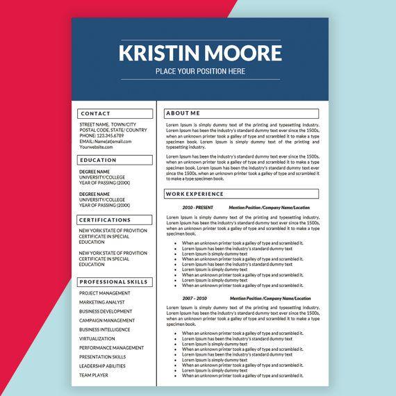 best 20  marketing resume ideas on pinterest