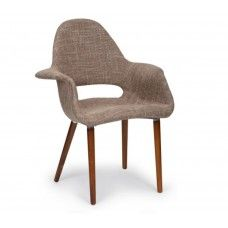 Charles & Ray Eames Inspired Organic Chair - Coffee