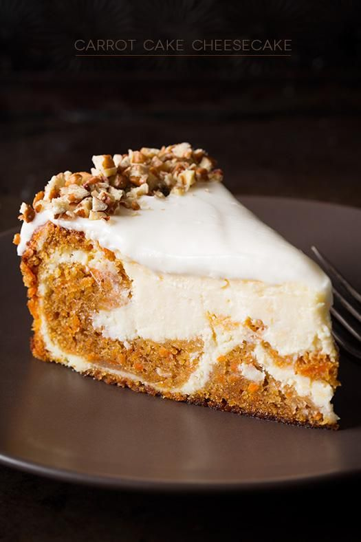 you like carrot cake or cheesecake, you have to try this one! It's an elegant…