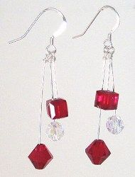 Fun earrings! Look for project #39 on the Idea Page for details and materials list.