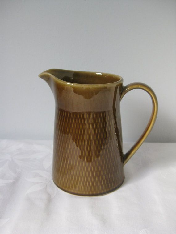 Stavangerflint Norway  Pitcher  BRUNETTE  by ScandinavianMood, kr120.00