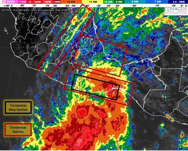 https://youtu.be/ICpgxHLB0To ] MÉXICO * 31 de may ode 2017. El Servicio Metereológico Nacional (SMN) informó que esta mañana se desarrolló la Depresión Tropical 2-E en el Océano Pacífico, a las 10:00 horas, tiempo del centro de México, y se localizó aproximadamente a 294 kilómetros al suroeste...