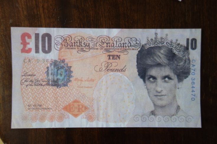FOR SALE Contact me for info : banskytenner@jonkennedy.co.uk  #banksy #tenner #brexit #bremain #diface