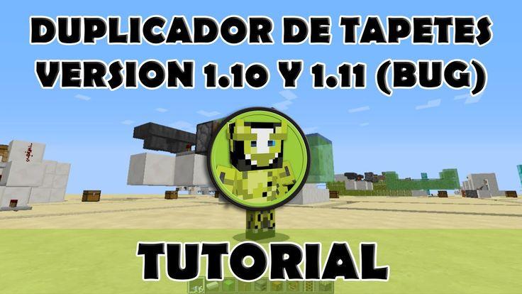 Tutorial Minecraft | Duplicador de tapetes 1.10 y 1.11 (bug)