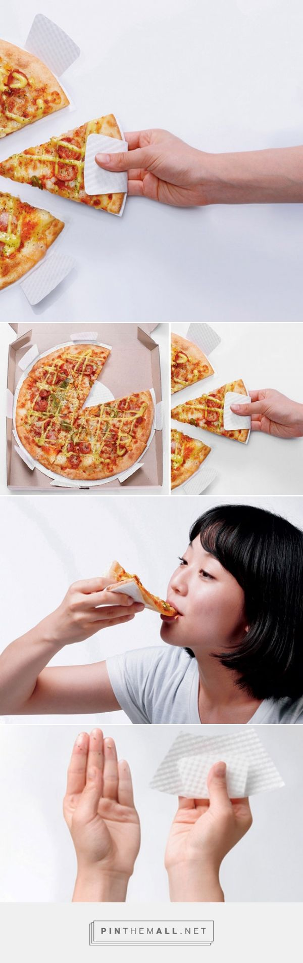 Paper Dish - Mess Free Pizza (Concept)