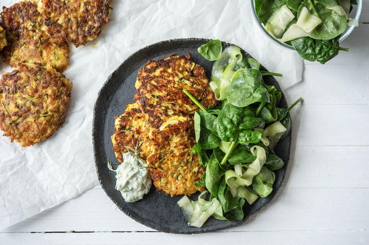Cheesy vegetable fritters