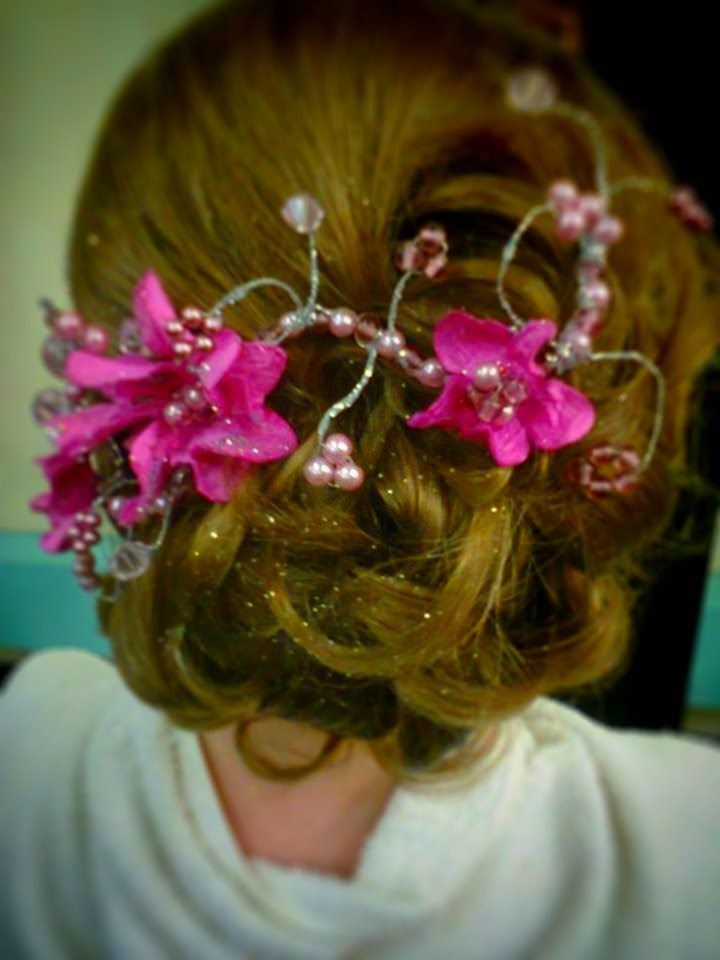 Up Styles with Hair Vines by Salon Des Coiffures