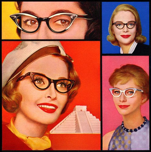 """How to look glamorous in glasses   