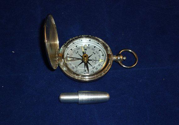 Compass Is Wwii Era Doxa Japan Version Glow In The Dark Dials