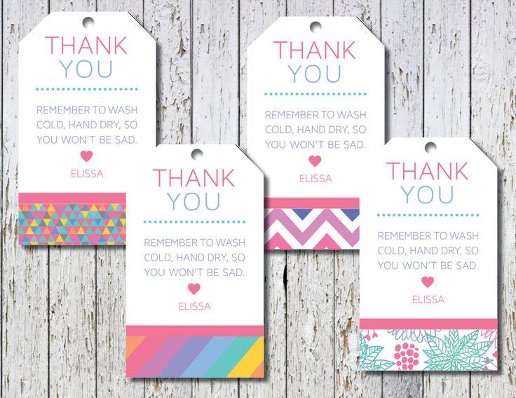 clothing hang tags, hang tags, custom hang tags, floral hang tags, striped hang tags, chevron hang tags, Printable hang tags, DIY hang tags by TheWrightInvite on Etsy