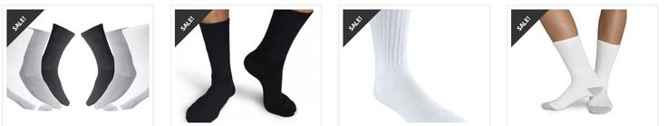 Buy wholesale socks in bulk for all age from Living Fashions online store. Browse our wide variety of socks at incredible price.  https://www.livingfashions.com/wholesale-bulk/socks/athletic-socks