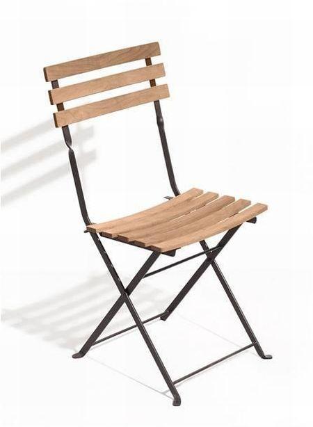 Brown Metal Folding Chairs