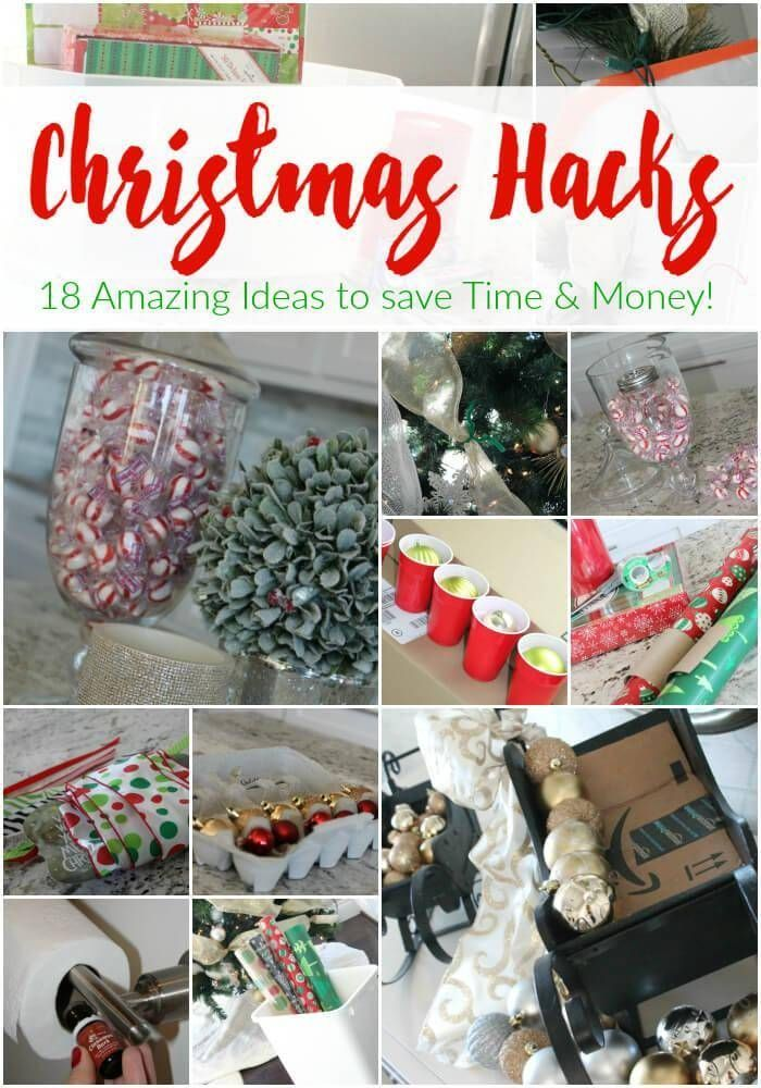 Christmas HACKS! Have you seen these amazing holiday hacks for