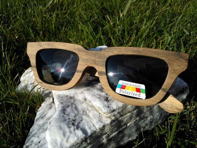 Geraldine Wood Sunglasses