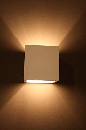 Lampada da parete in gesso, CLEO-12