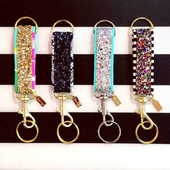 The Glitter Key Fob is back, and better than ever! Weve added some extra hardware to make your favorite fob more versatile.. check out those