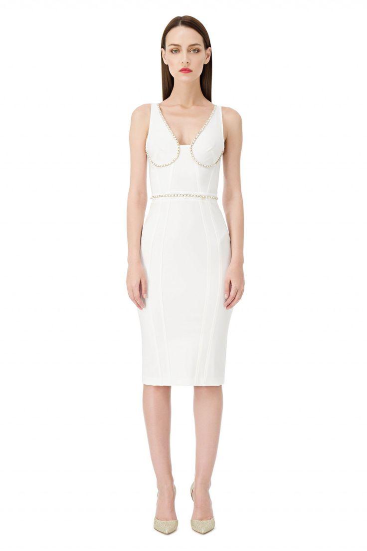 Облегающее платье по колено - Elisabetta Franchi