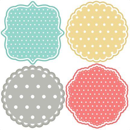 Polka Dot Backgrounds SVG scrapbook title backgrounds svg cut file backgrounds svg cut files for cricut cute svgs free