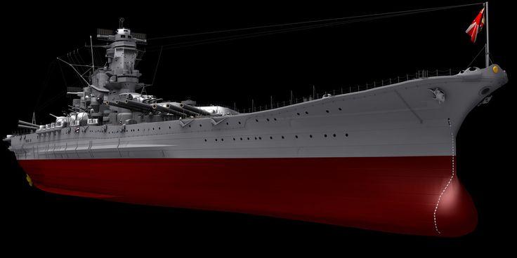 YAMATO Battleship, Younghwan Kim on ArtStation at https://www.artstation.com/artwork/Zoy41