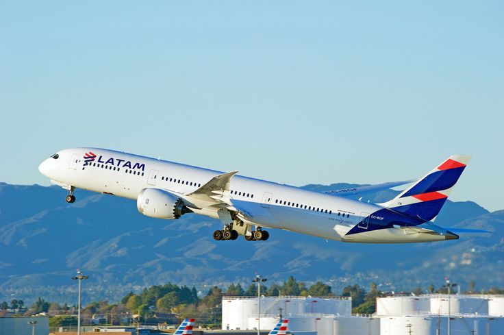 South American Airlines LATAM offers an extensive range of flights within South America.