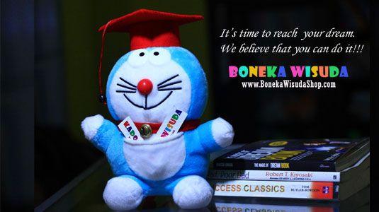 Animal Graduation Doll Doraemon  Hubungi: 0857-7022-7777 PIN: 2A874437