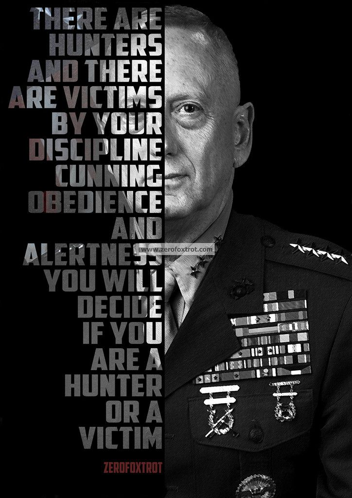 Gen. Mad Dog Mattis...enough said. - Measures 19 x 27 - Printed on high quality 120 lb Coated Matte Text Stock - Professional grade design - Made in the USA! (W