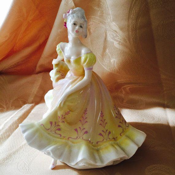 Royal Dalton figurine Ninette  bone china  made by FrancinaLaCasa